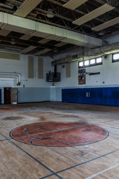 The large gymnasium at SCI Cresson.