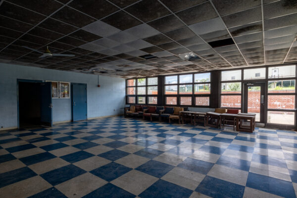 Prison waiting room at Abandoned Cresson Prison