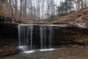 How to Get to the Waterfall in Pittsburgh's Settler's Cabin Park