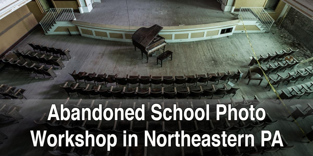 Abandoned School Photography Workshop in PA width=