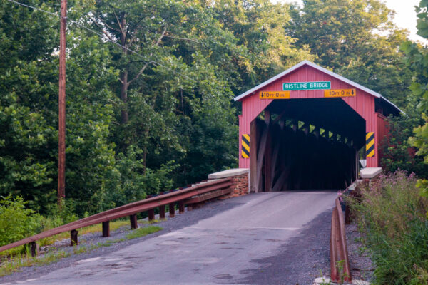 Bistline Covered Bridge in Perry County PA