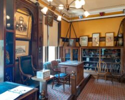Visiting the Incredible Civil War Room at the Library in Carnegie, PA