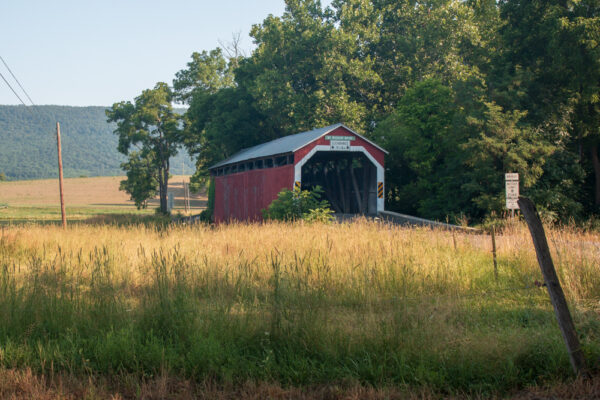 Mount Pleasant Covered Bridge in Perry County PA