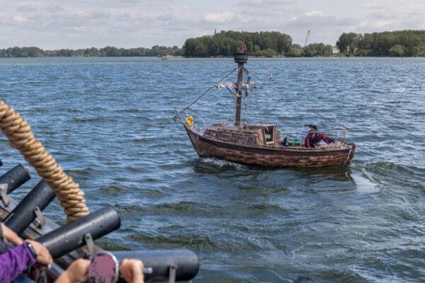 Pirate boat in Erie PA