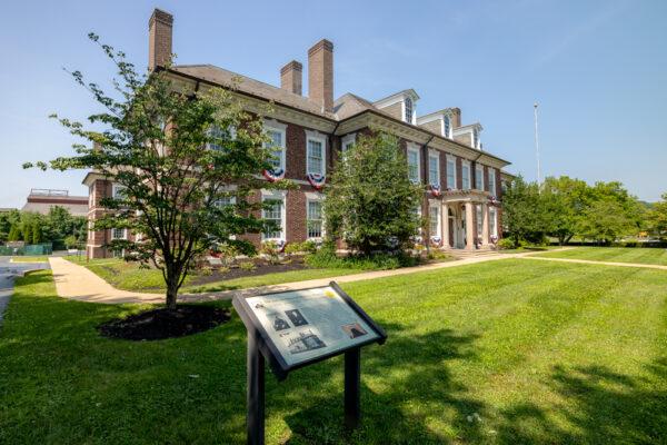 Exterior of the Lukens Executive Office Building in Coatesville Pennsylvania