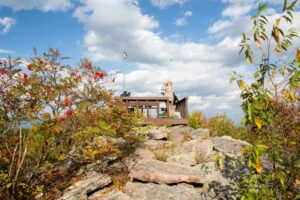 Visiting Stone Mountain Hawk Watch in Rothrock State Forest