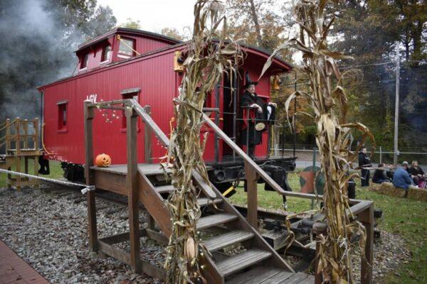 Creepy Caboose at the Ligonier Valley Railroad Museum