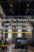National Iron and Steel Heritage Museum in Coatesville, Pennsylvania