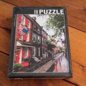 Elfreth's Alley in Philadelphia Puzzle